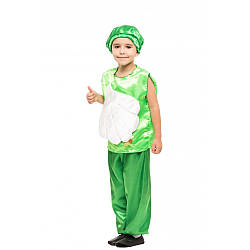 Карнавальный костюм ЧЕСНОК на 3,4,5,6,7,8 лет, детский маскарадный костюм ЧЕСНОЧОК на праздник осени