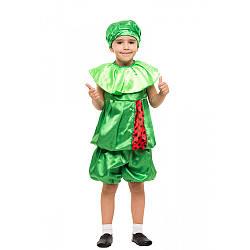 Карнавальный костюм АРБУЗ унисекс на 3,4,5,6,7,8 лет, детский маскарадный костюм АРБУЗА, АРБУЗИК