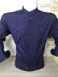 Рубашка длинный рукав Paul Jack стойка