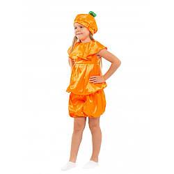 Карнавальный костюм АПЕЛЬСИН, ТЫКВА на 3,4,5,6,7,8 лет, детский маскарадный костюм ТЫКВЫ, АПЕЛЬСИНА