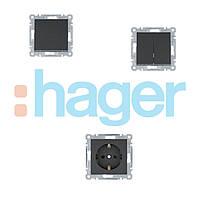 Lumina (черный) Hager