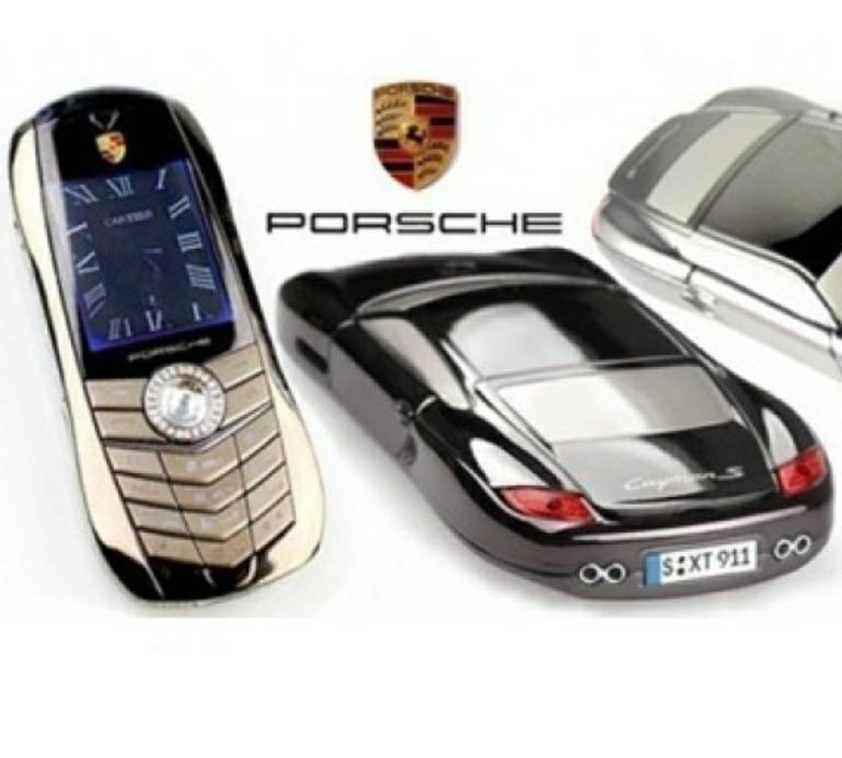 Телефон машина Porsche F977 на 2 сим карты мобильный машинка стальной корпус