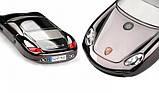 Телефон машина Porsche F977 на 2 сим карты мобильный машинка стальной корпус, фото 2