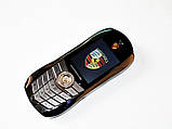 Телефон машина Porsche F977 на 2 сим карты мобильный машинка стальной корпус, фото 3