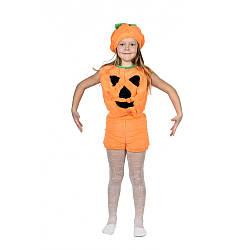 Карнавальный костюм ТЫКВА меховый для детей 3-6 лет, рост 104-118 см