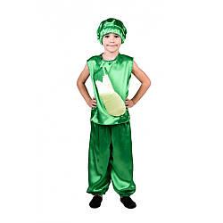 Карнавальный костюм КАБАЧОК унисекс на 3,4,5,6,7,8 лет, детский маскарадный костюм КАБАЧКА на праздник осени