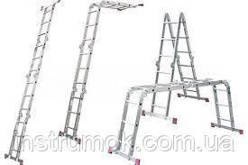 Стремянка-трансформер Практика 4х5 5.8 м
