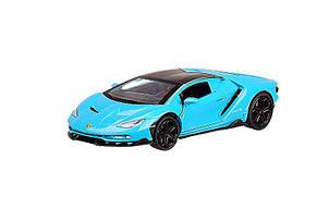 Машинка металлическая Автопром Lamborghini бирюзовая 6602