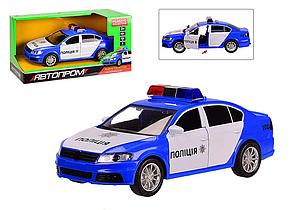 Машина полицейская Автопром со звуковыми эффектами 7967