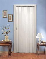 Двері гармошка глухі Ясен Скандинавський (розсувні, міжкімнатні, для душових, комор)