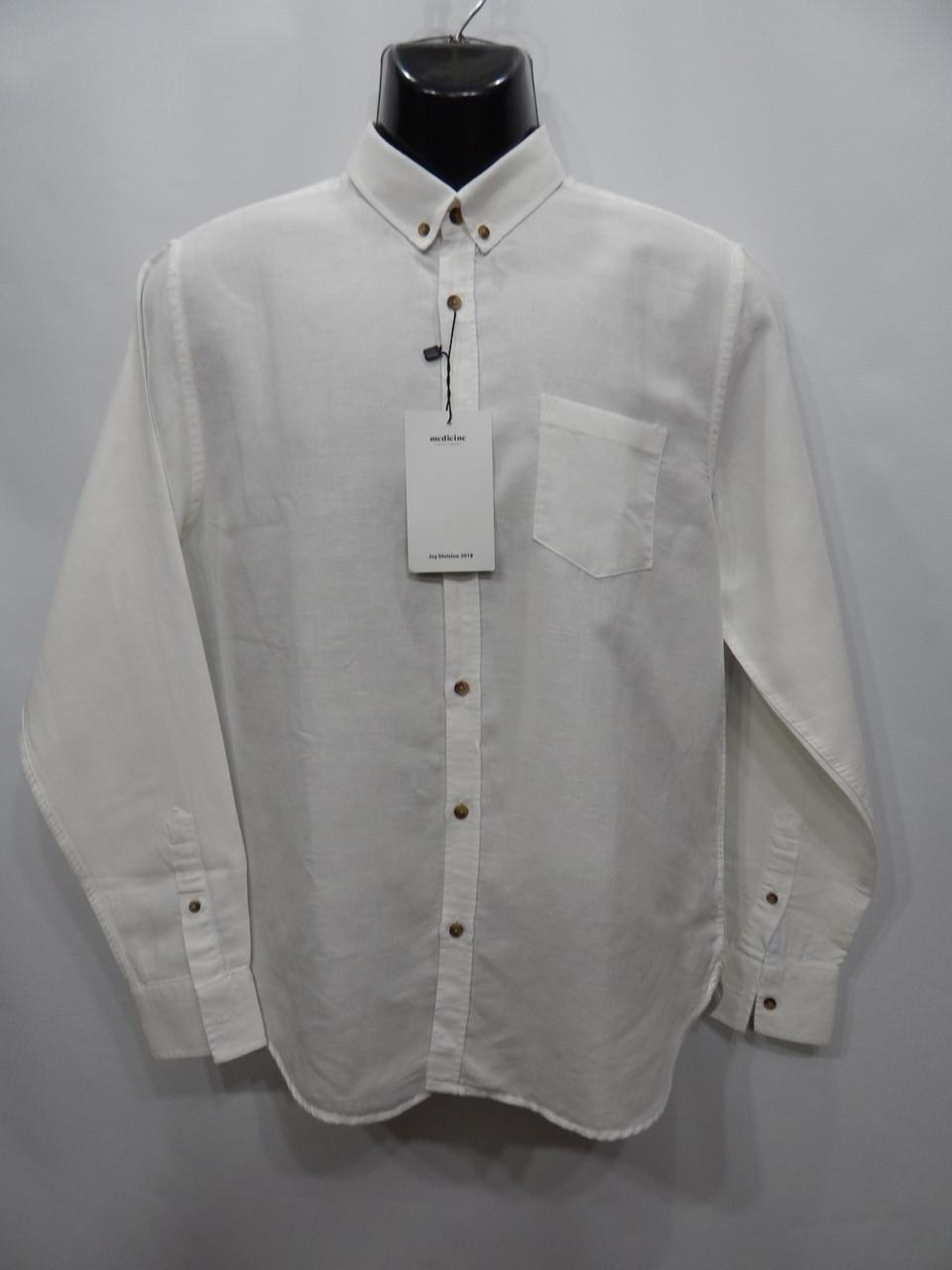 Мужская рубашка с длинным рукавом Medicine оригинал 014ДР р.48