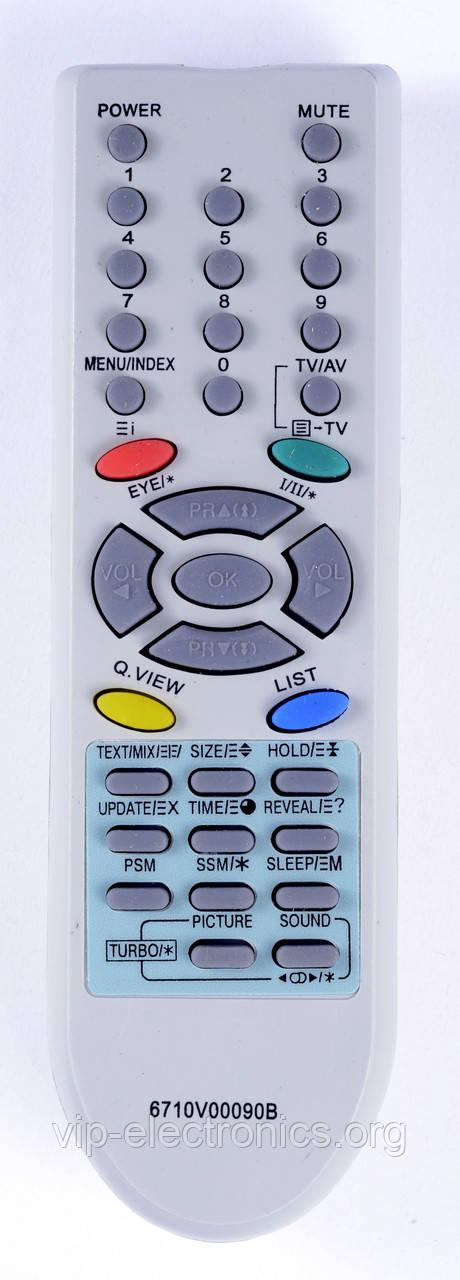 Пульт LG  6710V0090B (TV) з ТХТ як оригінал