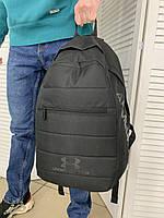 Мужской спортивный черный рюкзак