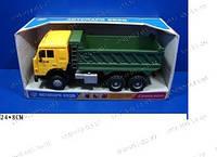 Детские машинки JT Камаз 9099 B (24шт) батарейка, музыка, свет, самосвал, в коробке, 24-8см