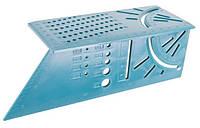 Угольник Японский 3D 200*70*63 мм MASTERTOOL 30-3520
