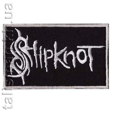 Нашивка с вышивкой SLIPKNOT 3 заглавная буква