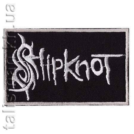 Нашивка с вышивкой SLIPKNOT 3 заглавная буква, фото 2