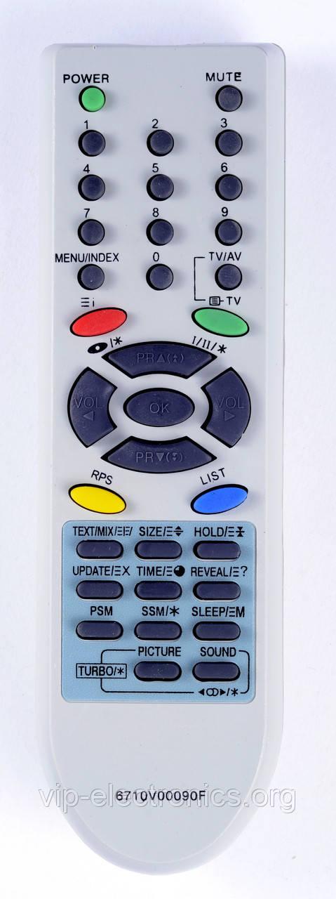 Пульт LG  6710V0090F (TV) з ТХТ як оригінал