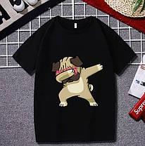 Стильна футболка з принтом, фото 2