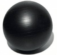 Мяч для фитнеса GYM BALL, матовый. d - 75 см ЧЕРНЫЙ