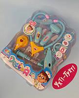 Набор доктора, световые и звуковые эффекты, Дитячий ігровий набір лікаря DF 546-25