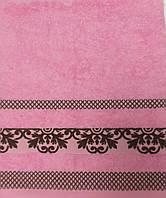 Рушник махровий 50*90 КОБОРТМА рожевий