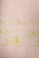 Рушник махровий 50*90 ВІП КОТТОН рожевий