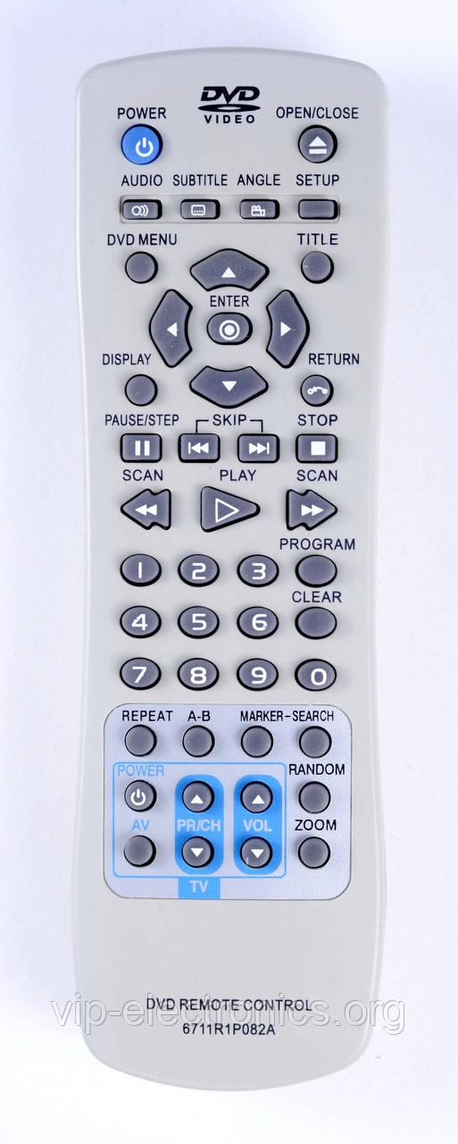 Пульт LG  6711R1P082A (DVD)  як оригінал