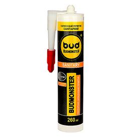 Силикон Budmonster санитарный 260 мл прозрачный BudMonster