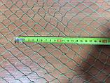 Сітка для огорожі (поліамід) осередок 20мм нитка 0,8 мм ширина 3,0 м в робочому стані, фото 2