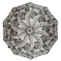 """Женский зонтик-полуавтомат на 10 спиц  """"La-la land"""",  от SL, серый, 499-1, фото 1"""