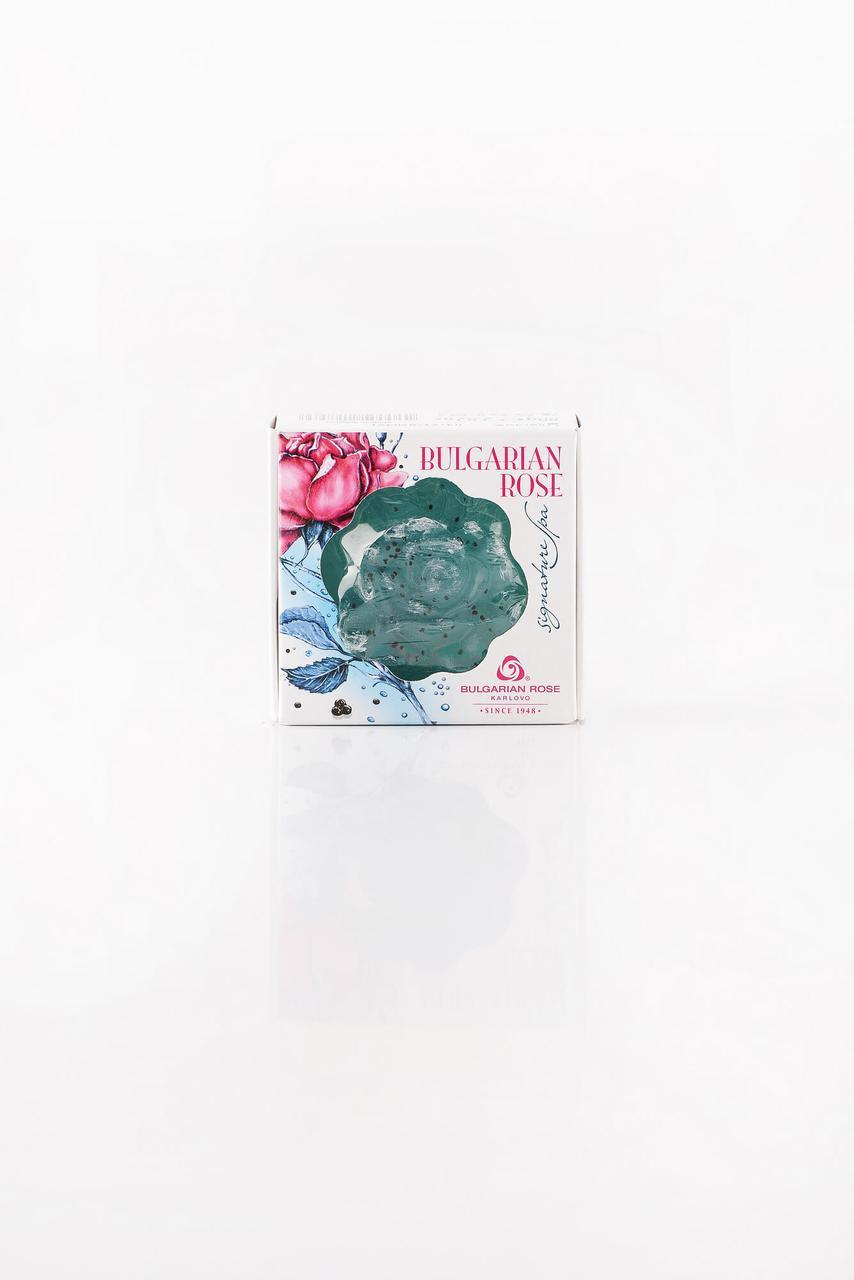 BULGARIAN ROSE SIGNATURE SPA GLYCERIN SOAP-BLUE Гліцеринове мило (синє)