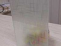"""Стекло """"Лабиринт"""" б/ц для межкомнатных дверей, фото 1"""