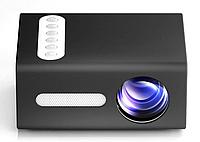 Портативный мини проектор мультимедийный LED T300   Бытовой светодиодный видеопроектор домашний кинотеатр