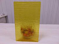 """Стекло """"Кора"""" жовта для межкомнатных дверей"""