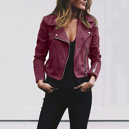 Стильна жіноча куртка-косуха, фото 2