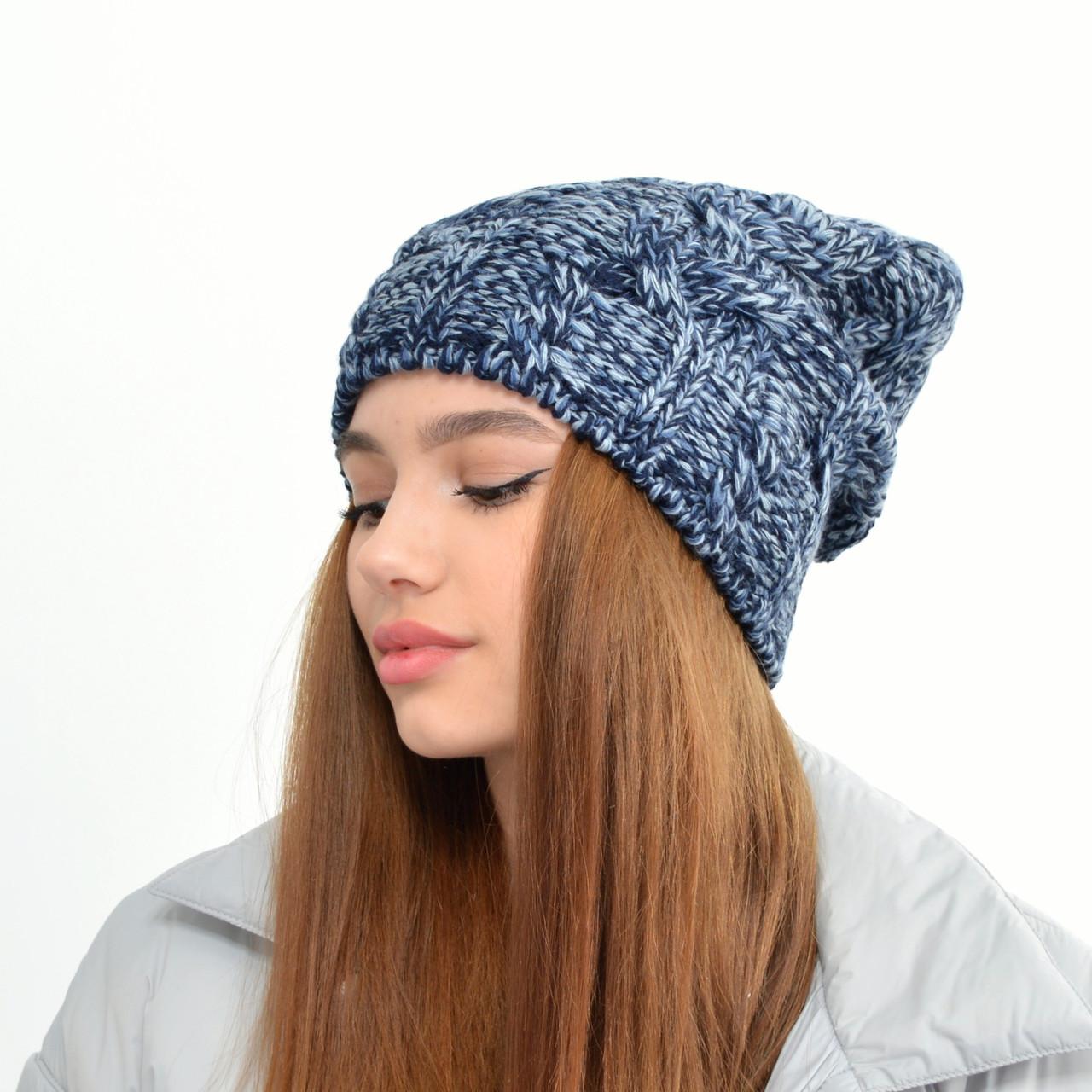Жіноча шапка LaVisio. 414-103 синій