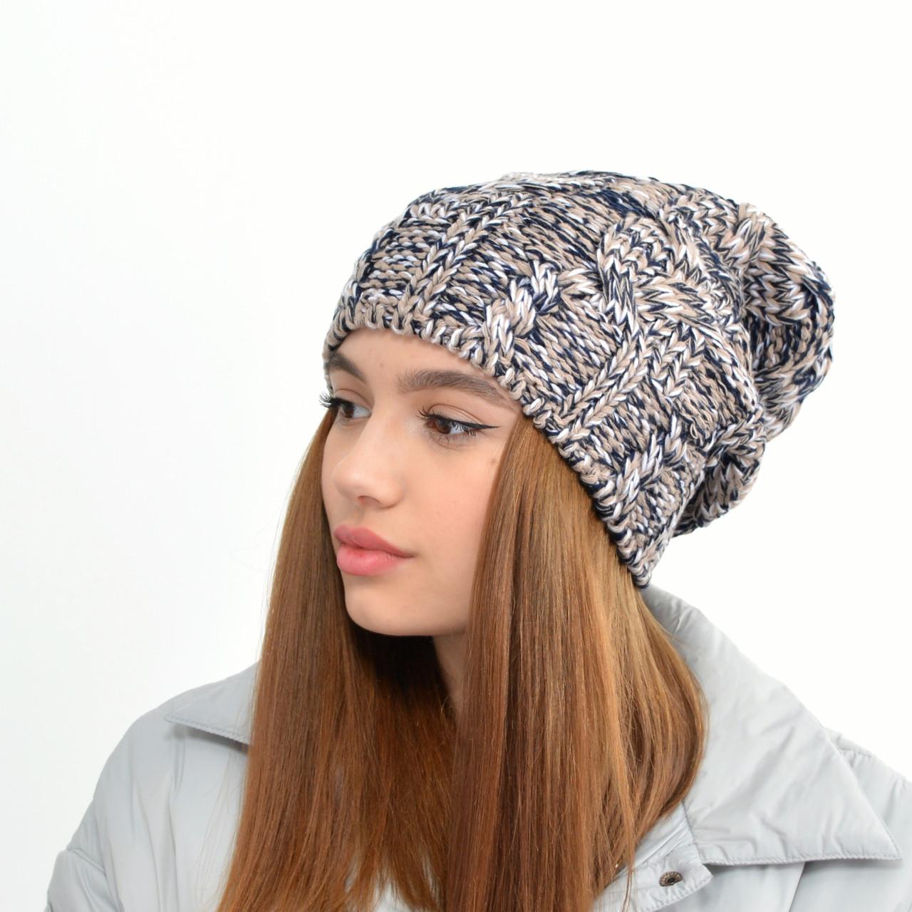 Жіноча шапка LaVisio. 414-130 коричневий