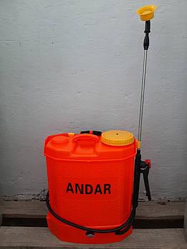 Опрыскиватель садовый Andar аккумуляторный 12 л