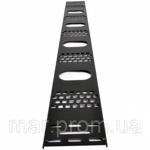 Вертикальный кабельный организатор 42U до шкафов MGSE, (ширина 120 мм)