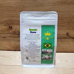 Кофе арабика в зернах Бразилия Сантос 250г свежей обжарки