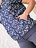 Літній жіночий повсякденний костюм з бавовняного трикотажу, фото 4