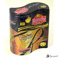 Черный чай RANDY «Желтый сапфир» PEKOE ж/б 100г