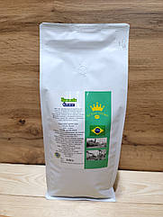 Кофе арабика в зернах Бразилия Сантос 1кг