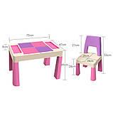 Детский игровой столик и стульчик PP-002P, фото 5
