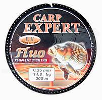 Карповая Леска Carp Expert Fluo Orange 0,25mm 300m
