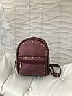 Женский рюкзак R-114-4, бордовый, фото 2