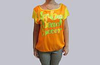Футболка женская желтая UMBRO (696114) код 75д