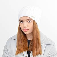 Женская шапка Зара на флисе черный