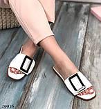 Жіночі шльопанці Dior Soben білі, бежеві, чорні, фото 2